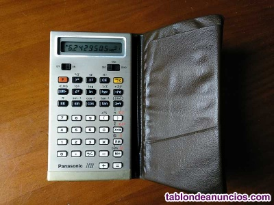 Antigua calculadora panasonic 1430 model je-1430u funcionando - electronic calcu