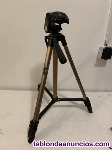 Trípode cámara fotos benk