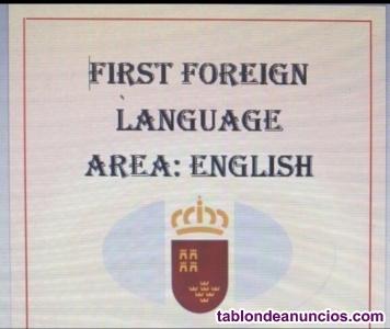 Pack programación inglés y temas personales. Plaza a la primera