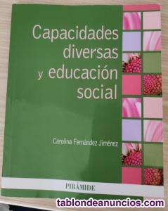 Libro capacidades diversas y educación social