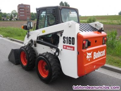Minicargadora bobcat s160 alto caudal