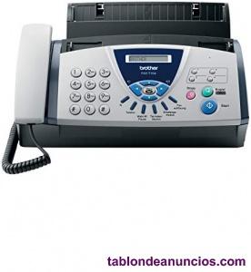 Fax/teléfono brother fax-t104