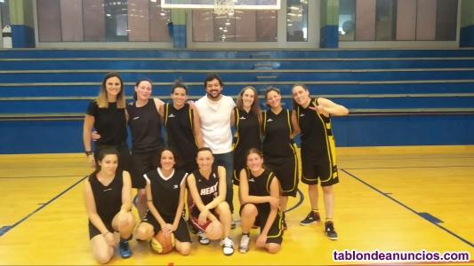 Buscamos jugadoras Senior de baloncesto en Liga Municipal