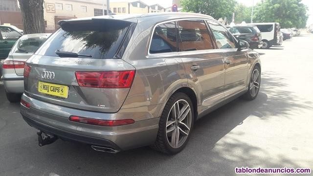 Audi - q7 s line individual 7 plazas