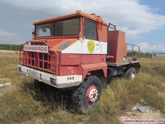 Camion de bomberos pegaso 3046/10 egipcio