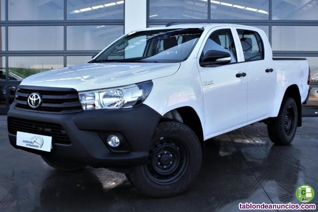 Toyota hilux 2.4 d-4d doble cabina gx 4x4 150cv (precio final)