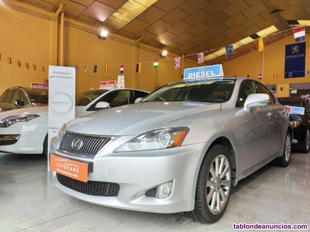 Lexus IS 220d Premium (cambio 2,4)