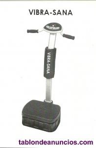 Se vende   maquina de hacer masajes con vibracion.