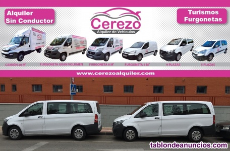 Alquiler de Furgonetas y Camiones puerta Elevadora Murcia