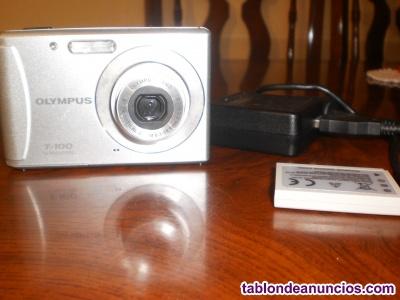 Vendo cámara de fotos olympus t-100 (completa)