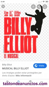 Billy elliot el musical en barcelona