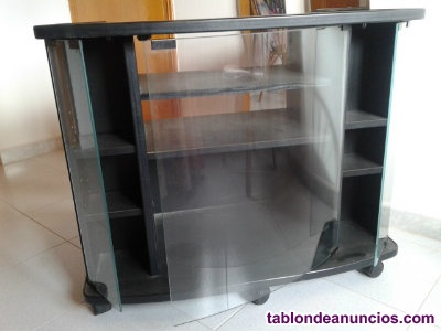 Mesa TV critales curvados