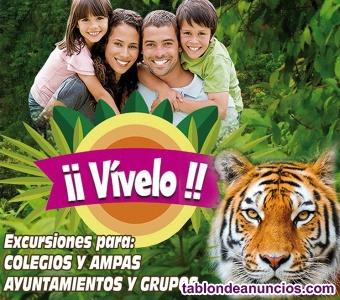 Entradas zoo safari fauna aventura