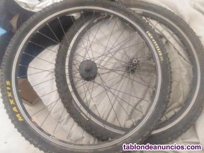 Vendo llantas de aluminio para bici  tlf660134312