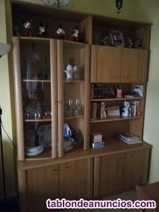 Mueble salón, mesa y sillas