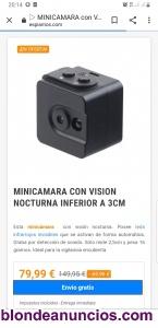 Se vende mini cámara espia