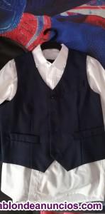 Traje de chaqueta de niño 7-9