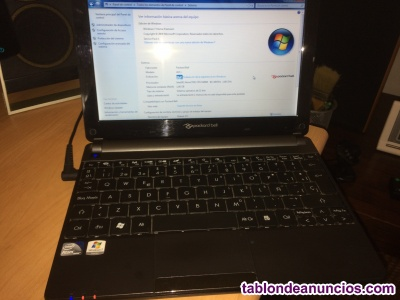 Note book packard bell ze7, windows 7