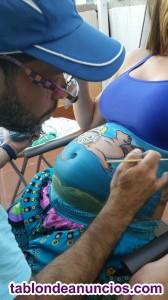 Body paint Premamá