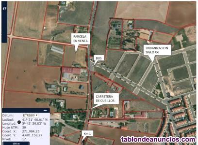 Oportunidad Magnifica parcela junto a la capital de Zamora.