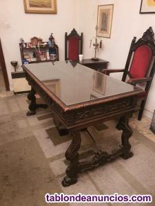 Muebles tradicionales artesanos de oficina