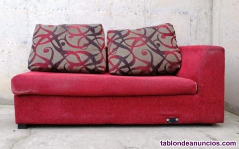 Sofá rojo 172x95x70cm