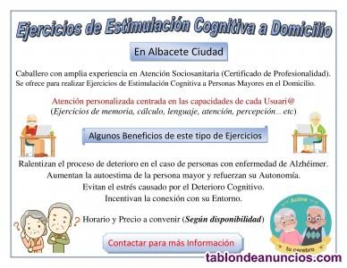 Ejercicios de Estimulación Cognitiva a Domicilio