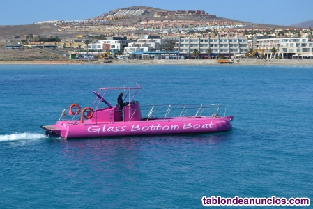 Glass botton boat