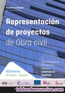 Curso de Representación de proyectos de Obra civil