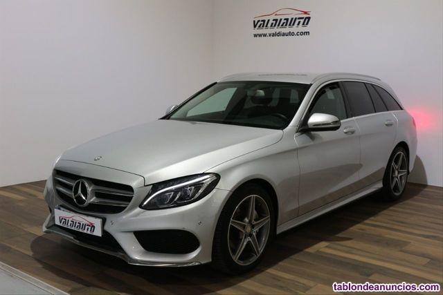 Mercedes-benz - clase c c 220 d sportive amg estate