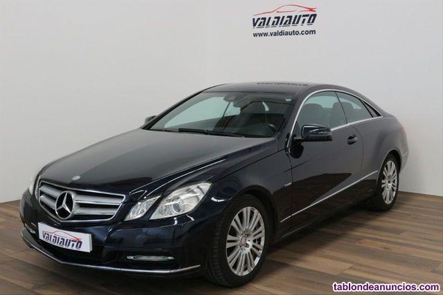 Mercedes-benz - clase e coupe e 200 cgi blue efficiency avantg.