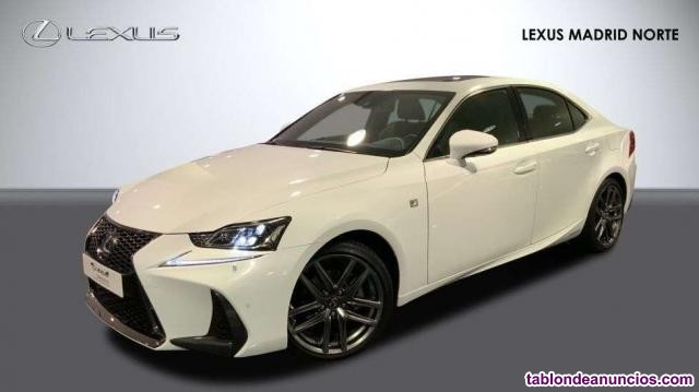 Lexus is 300 h f sport + navibox
