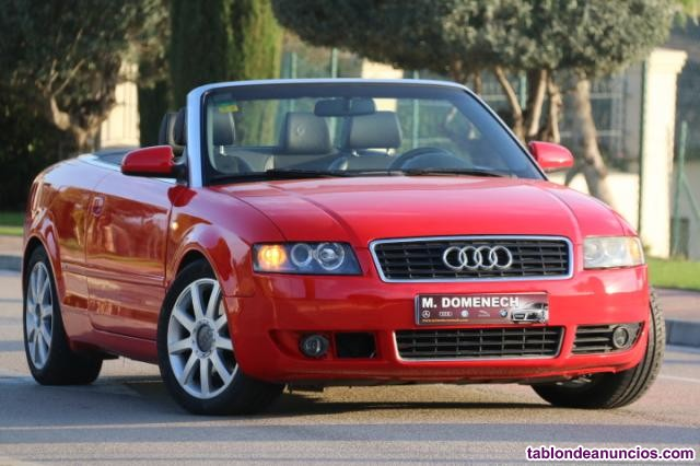 Audi a4 cabrio cabriolet 1.8 t 20v cat