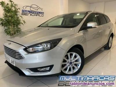 Ford focus sb. 1.5tdci titanium 120 desde 140 euros/mes