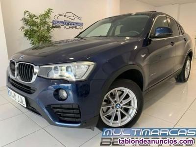 BMW X4 xDrive 20dA desde 400 euros/mes