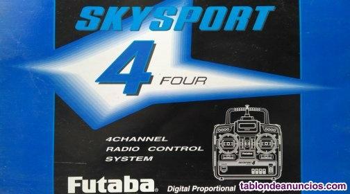 Emirora radio control 4 canales. FUTABA