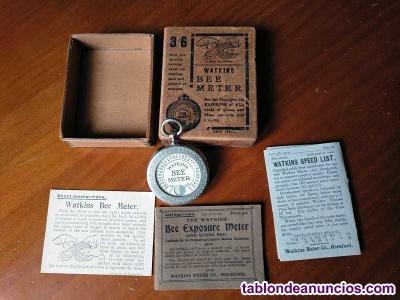 Watkins bee exposure meter 1914 ( exposimetro - actinometro - fotometro con caja