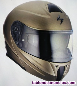 Se vende casco scorpion exo-920 dorado