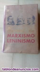 Libro:Manual de Marxismo Leninismo(de O.Kuusinen y otros)