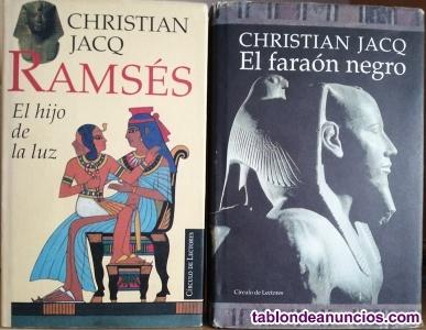 Dos obras de cristian jacq
