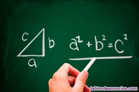 Clases de refuerzo matemáticas