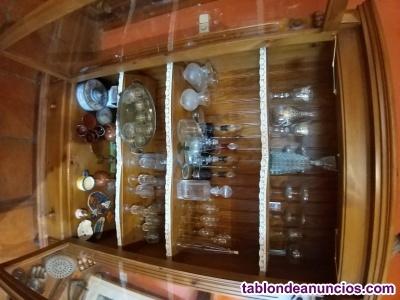 Armario vitrina expositor antiguo