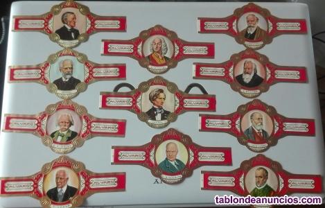 26 vitolas colección maestros de la música