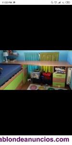 Se vende cama y escritorio infantil