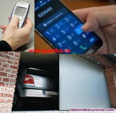 Abrir Garaje Puerta Piscina de Comunidad con Telefono Movil