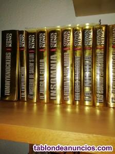 Vendo estupenda colección de 19 libros edición oro Stephen King