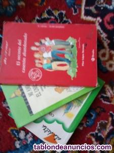 Set de tres libros de lectura