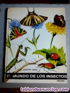 El mundo de los insectos de giuseppe zanini editorial molino