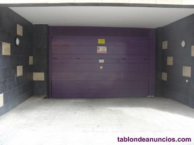 Alquiler de plaza de garaje en Vilanova i la Geltrú