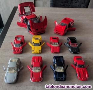 Miniaturas coches Ferrari